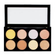 Палетка хайлайтеров Makeup Revolution Ultra Strobe and Light Palette: фото