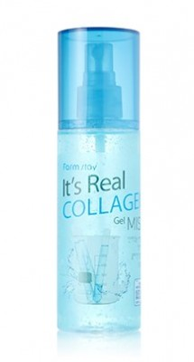 Гель-мист для лица с коллагеном FARMSTAY It's real collagen gel mist 120мл: фото