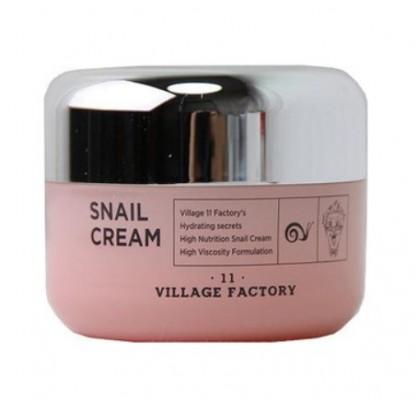 Крем для лица с улиточным муцином VILLAGE 11 FACTORY Snail Cream 50мл: фото
