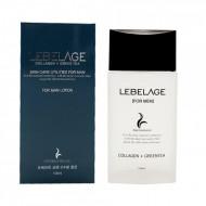 Увлажняющий лосьон для мужчин с коллагеном и зеленым чаем Lebelage Collagen+Green Tea Skincare Utilites 150 мл: фото