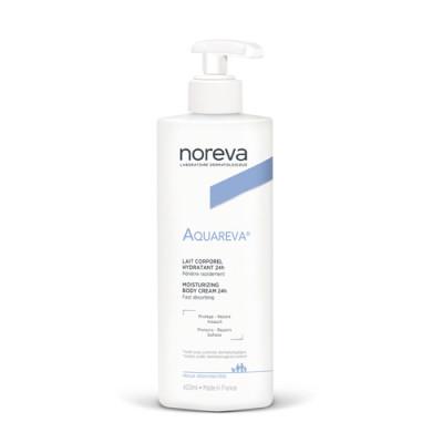 Молочко для тела увлажняющие Noreva Aquareva 400 мл: фото