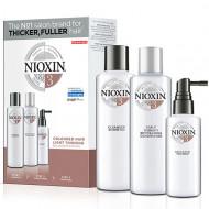 Набор 3х-ступенчатая система XXL-формат Nioxin System3 300+300+100 мл: фото