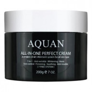 Крем для лица многофункциональный Anskin Aquan All-in-one Perfect Cream 200гр: фото