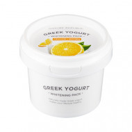 Маска йогуртовая осветляющая с экстрактом апельсина NATURE REPUBLIC GREEK YOGURT PACK_ORANGE (WHITENING) 130мл: фото