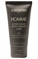 Эмульсия после бритья ревитализирующая для ухода за кожей лица и бородой La Biosthetique After Shave, Face&Beard Care 75 мл: фото