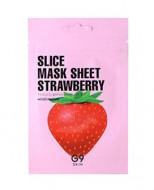 Маска-слайс для лица тканевая увлажняющая Berrisom G9 Slice Mask Sheet - Strawberry 10мл: фото