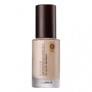 База-сыворотка под макияж THE SAEM Eco Soul Spau Serum Foundation 02 Natural Beige 30мл: фото
