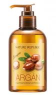 Шампунь для волос с арганой NATURE REPUBLIC ARGAN ESSENTIAL DEEP CARE SHAMPOO 300мл: фото