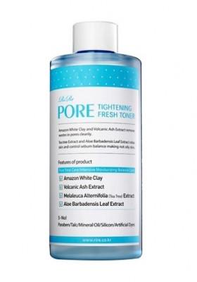 Тонер для сужения пор RiRe Pore tightening fresh toner 300мл: фото