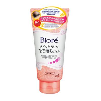 Гель увлажняющий для снятия макияжа Biore 170г: фото