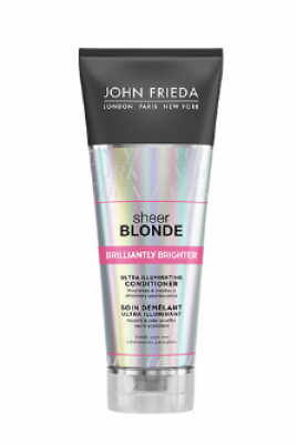 Кондиционер для придания блеска светлым волосам John Frieda Sheer Blonde Brilliantly Brighter 250 мл: фото