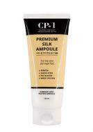 Сыворотка несмываемая для волос с протеинами шелка ESTHETIC HOUSE CP-1 Premium Silk Ampoule, 150 мл