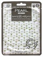 Тканевая маска Осветляющая с экстрактом белого жемчуга LEBELAGE Pearl Natural Mask: фото