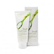 Крем для рук увлажняющий с муцином улитки 3W CLINIC Moisturizing Snail Hand Cream 100мл: фото