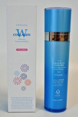 Эмульсия для лица осветляющая ENOUGH W Collagen Whitening Emulsion 130мл: фото
