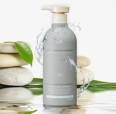 Слабокислотный шампунь против перхоти La'dor Anti Dandruff Shampoo 530 мл: фото