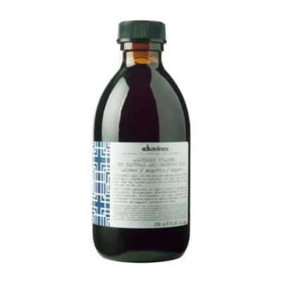 Шампунь АЛХИМИК для натуральных и окрашенных волос серебро Davines Alchemic shampoo for natural and coloured hair Silver 80 мл: фото