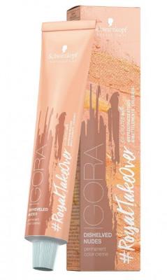 Крем-краска Schwarzkopf Professional Igora Royal Disheveled Nudes 9-567 Блондин золотистый шоколадно-медный 60 мл: фото