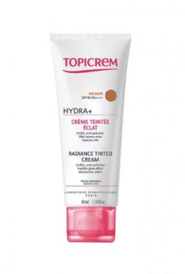 Тональный крем с эффектом сияния TOPICREM Hydra + Radiance SPF40 Medium 40 мл: фото