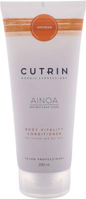 Кондиционер для укрепления CUTRIN AINOA BODY VITALITY, 200 мл: фото