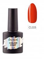 Гель лак цветной ECLAT COLOR COAT №115 10 мл: фото