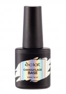 Каучуковое базовое покрытие для ногтей ECLAT CAMOUFLAGE BASE, 004 розовый 15 мл: фото